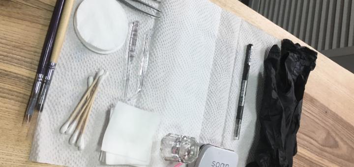 Ламинирование и коррекция бровей в «LUNA Beauty space»