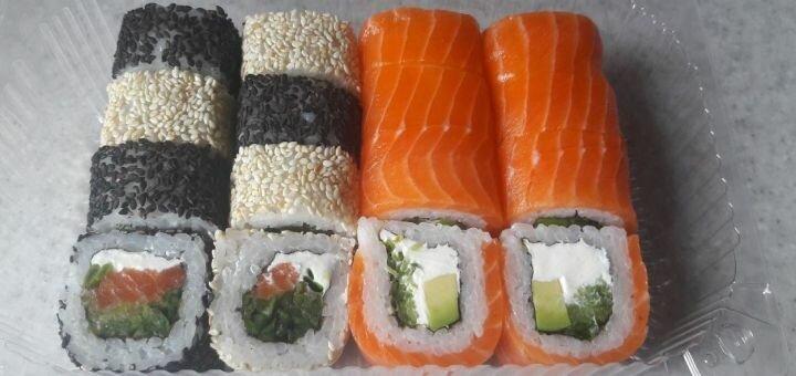 Скидка 50% на всё меню японской кухни от суши-бара «Сушка»