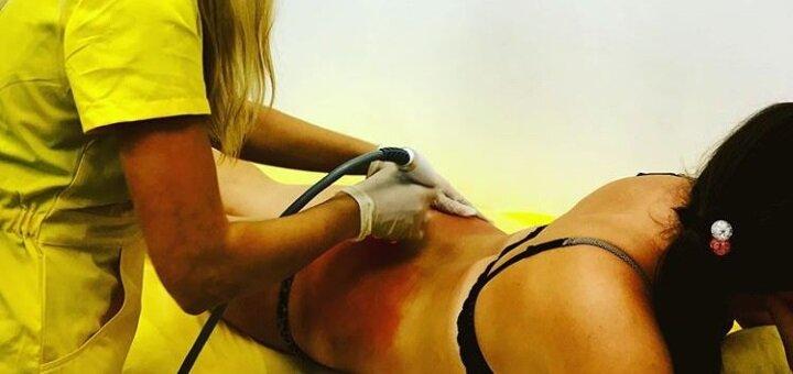 До 10 сеансов кавитации одной зоны, скрабирования и обертывания всего тела в студии «Mango»