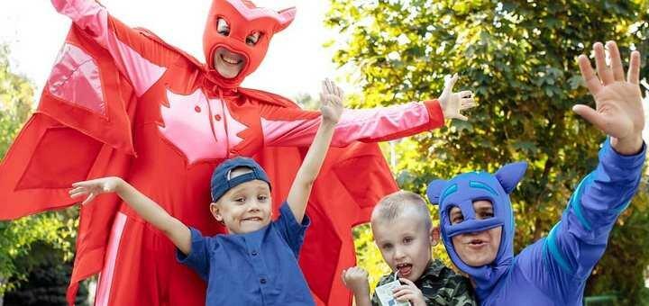 Скидка 20% на детскую анимацию на выбор от студии праздников «Lunatiki»