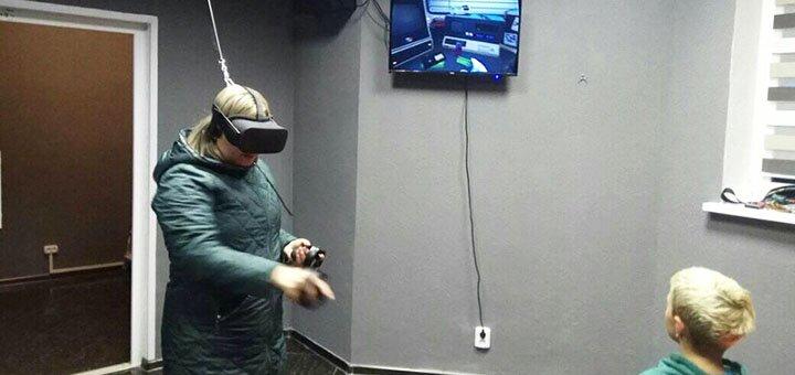 1 час игры в VR в клубе виртуальной реальности «VR THE Champions»