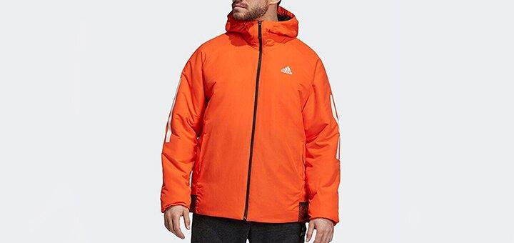 Скидки до 80% на мужские куртки «Adidas»