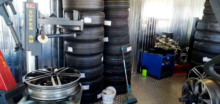 Шиномонтаж 4 колес для автомобилей от компании «Garazh.ua»