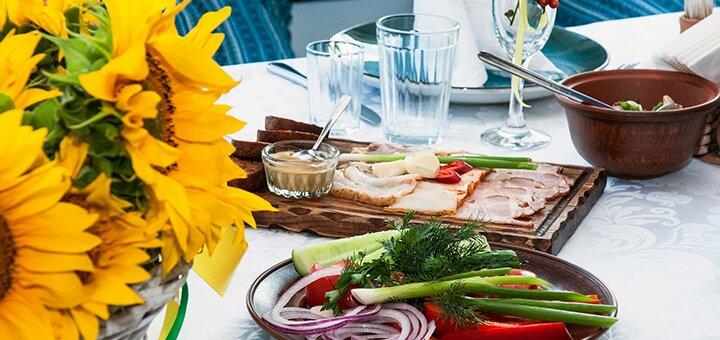 Сертификат на банкет для компании до 50 человек в ресторане украинской кухни «Козачок»
