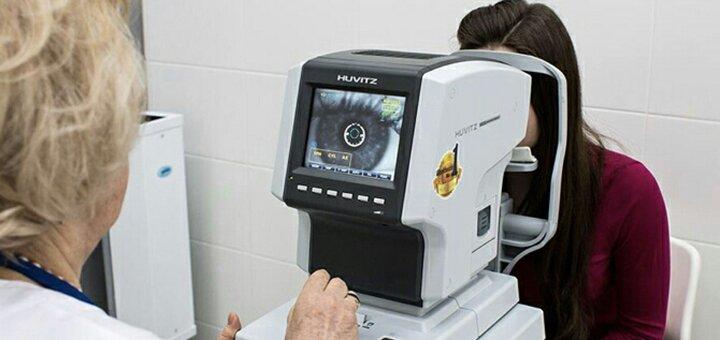 Комплексная диагностика остроты зрения для детей и взрослых в офтальмологии «Myoptica Myo»