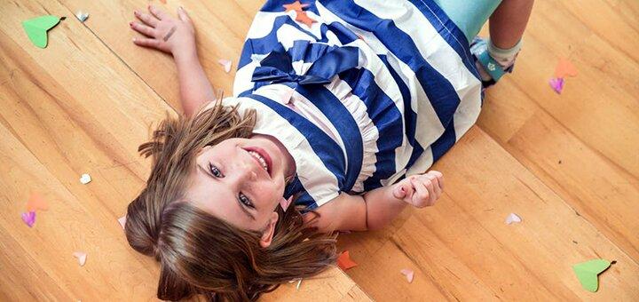 Студийная детская фотосессия в новой фотостудии с 6 локациями от фотографа Жени Лайта