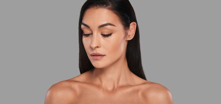 До 7 сеансов мультиполярного RF-лифтинга кожи лица, шеи и декольте в салоне «Sun Shine Beauty»