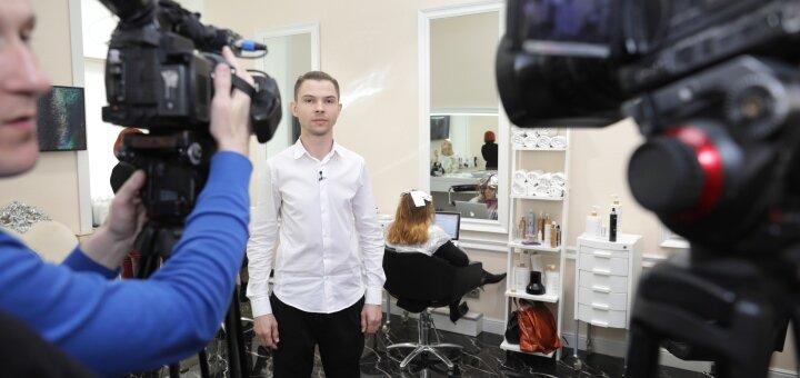 Коррекция формы мужской стрижки в студии красоты «AVRA beauty studio»