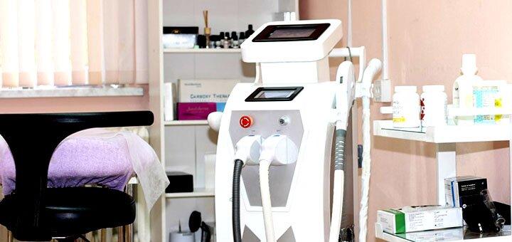 5 сеансов лазерной SHR-эпиляции и элос-эпиляции для мужчин в сети салонов «Sun Shine Beauty»