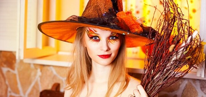 Стилизованная фотосессия на Хэллоуин от «Maseyka Photo»