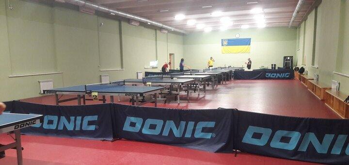 До 5 индивидуальных занятий настольным теннисом с тренером Валерией Степановской