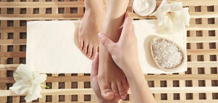 До 10 сеансів масажу стоп в салоні краси та естетичної косметології