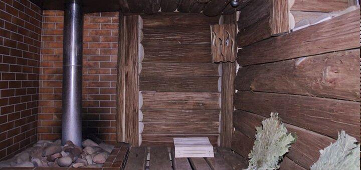 До 4 часов русской бани на дровах и SPA-программа в банном комплексе «Вкусный пар»