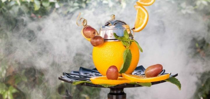 Кальян «Classic» или «Premium» с чайником чая или лимонадами в «Garne cafe»