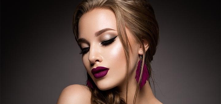 Дневной или вечерний макияж в салоне красоты «E'len Andre'»
