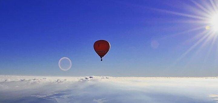 Скидка до 50% на полет на воздушном шаре с Дедом Морозом от компании «Впечатления в подарок»