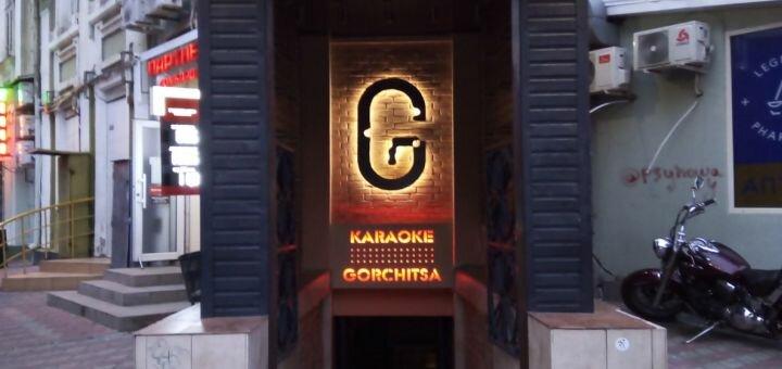 Скидка 50% на все меню кухни в караоке-баре «Gorchitsa»