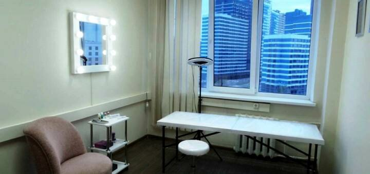 Перманентный макияж бровей «Пудровые брови» в студии красоты «Elite Permanent»
