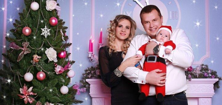Новогодняя студийная фотосессия «Новогодняя феерия» от фотостудии «Art Home Photography»