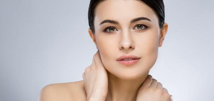 7 сеансов миндального пилинга лица в косметологическом кабинете Людмилы Горшковой