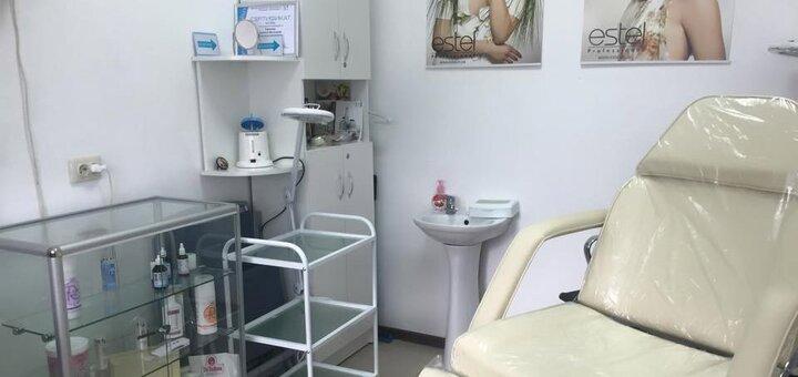 5 сеансов миндального пилинга лица в косметологическом кабинете Людмилы Горшковой