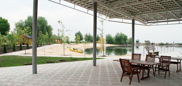 Отдых в сауне с игрой в боулинг, бильярд, теннис в комплексе «Золотые Пески» на Днепре