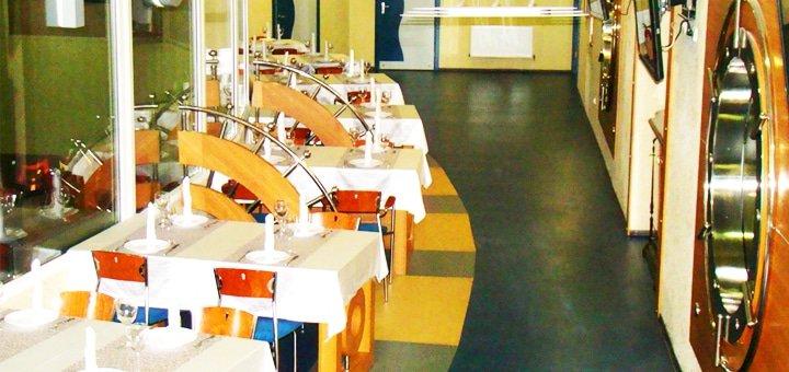 """Пальчики оближешь! Скидка на всё меню кухни, суши-меню и бар в ресторане боулинг-клуба """"Панорама""""!"""