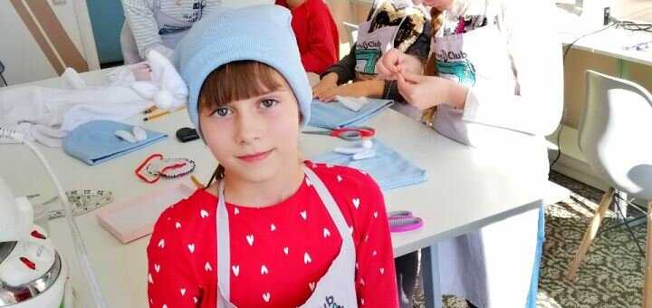 Мастер-класс по шитью и дизайну от клуба «Descanso club KIDS»