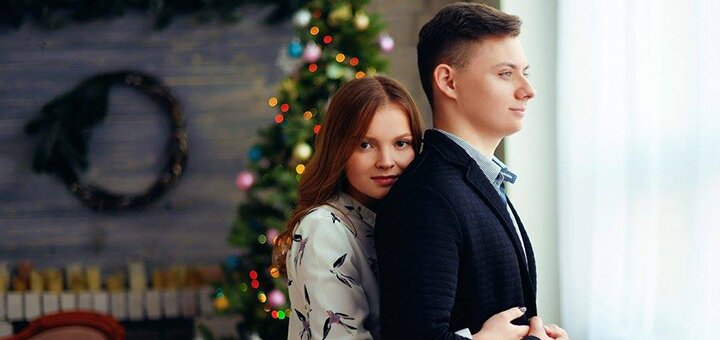 Выездная новогодняя фотосессия от фотографа «Plekhanova Photography»