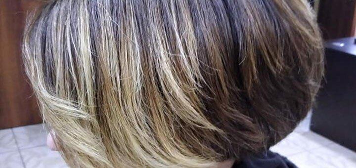 Botox для волос c укладкой в парикмахерской «Рубин»