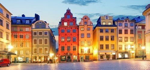 Морской круиз в Стокгольм за 68 евро