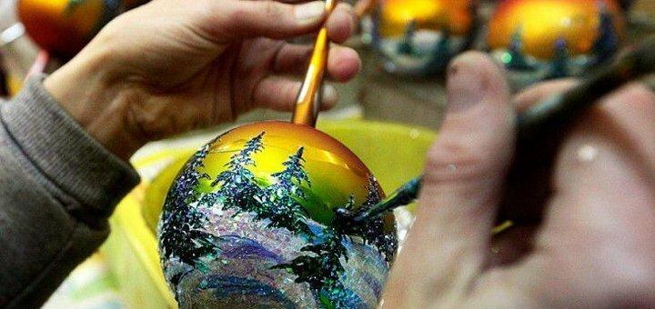 Автобусный тур на фабрику елочных игрушек с мастер-классом по росписи от «Фаворит Юкрейн»