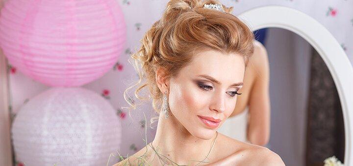 Профессиональный свадебный макияж и прическа от студии «ELEKTRA»