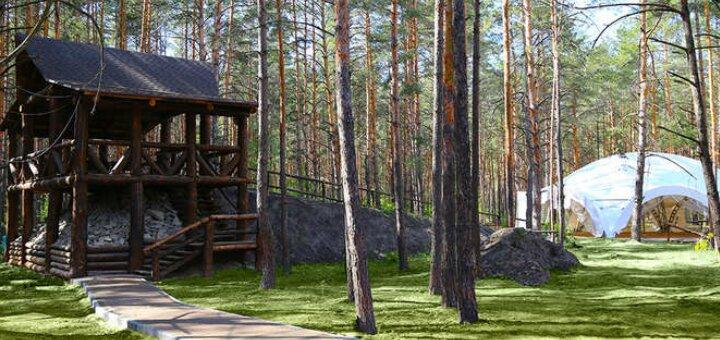 От 2 дней отдыха в будние дни в комплексе с бассейном «Sosnovel» в сосновом лесу под Киевом