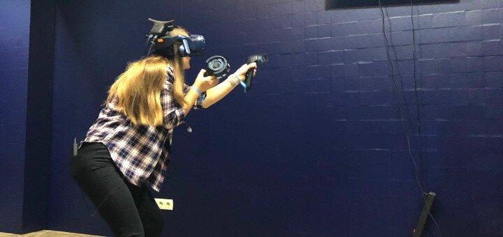 1 час игры в любой день и время в клубе виртуальной реальности «VR Place»
