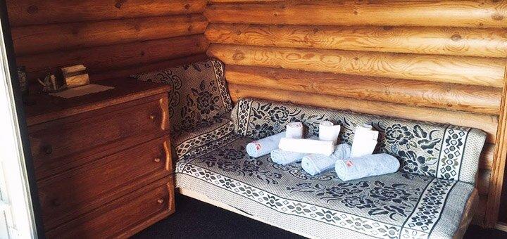 До 4 часов отдыха в бане в загородном комплексе «Остров Везения»