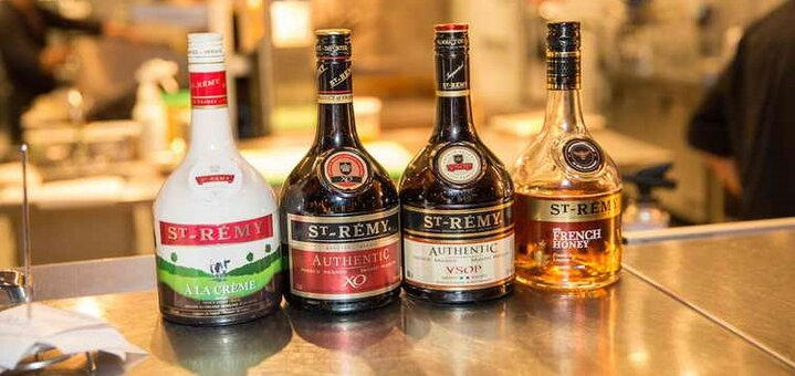Скидка 10% на французские коньяки Hennessy, Martell, Remy Martin, Saint Remy