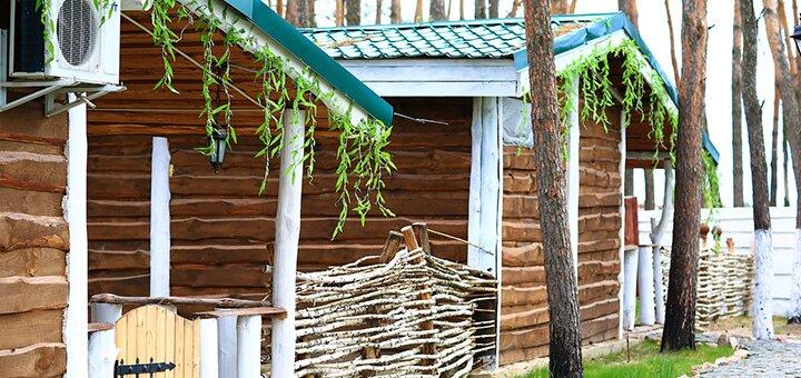 2 дня отдыха с трехразовым питанием в загородном комплексе «Вдрова» в Житомирской области