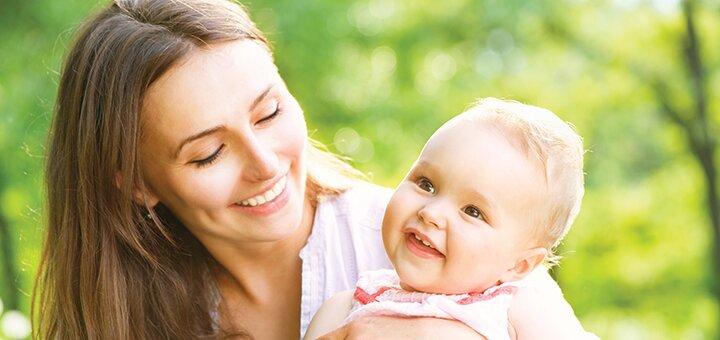Выездная фотосессия «Мама и малыш» от профессионального фотографа Натальи Спивак
