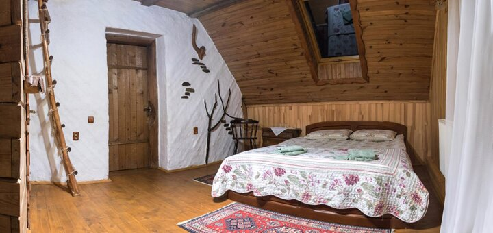От 4 дней зимнего отдыха с питанием в отеле «Рандеву» в Славском