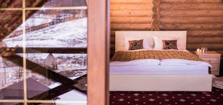 От 4 дней отдыха зимой с посещением SPA-центра в отеле «Monastic» в Карпатах