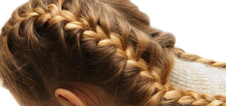 Детская стрижка для мальчиков и девочек, плетение кос в детской парикмахерской «Pipitto»
