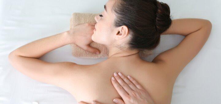 До 7 сеансов массажа спины и шейно-воротниковой зоны в массажном кабинете Татьяны Зуб