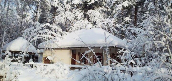 2 дня отдыха с завтраками в загородном комплексе «Українське Село» под Киевом