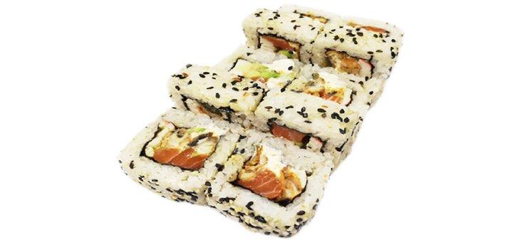Скидка 50% на все меню кухни от службы доставки суши-бара «TIM YAM»
