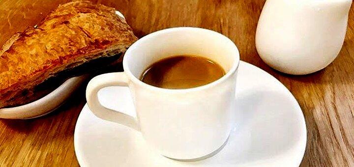 Скидка 50% на все меню в кофейне «Chicco di Caffe»