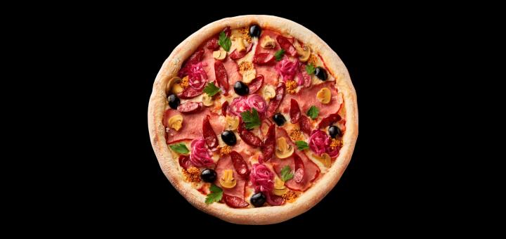 Скидка 50% на меню кухни, суши, пиццу, бургеры, WOK с доставкой или самовывозом от «Instafood»
