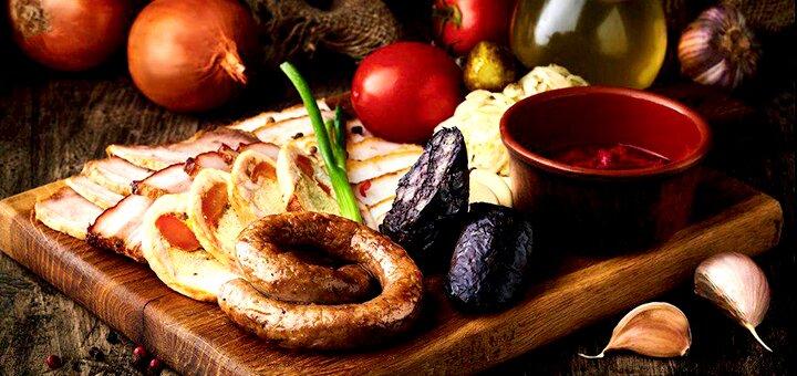 Гриль-меню на вынос в ресторане украинской кухни «Тарас»