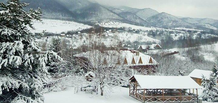 От 4 дней отдыха в декабре в пансионате «Урочище» в Карпатах