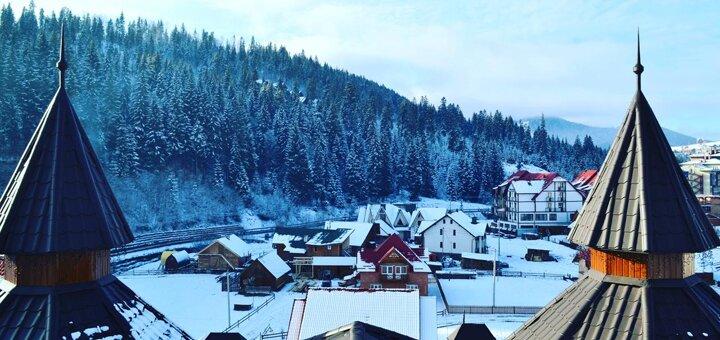 От 3 дней отдыха с завтраками в отеле «Diamond» 4* на горнолыжном курорте Буковель